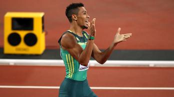 43 másodperc alá vinné a 400 világrekordját Van Niekerk