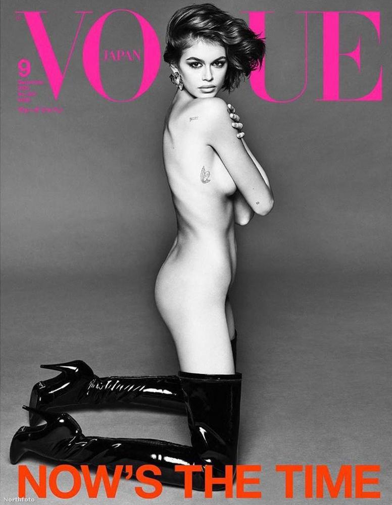 Kaia Gerber a japán Vogue címlapjára került, mint az a kép alapján egyértelművé válhat