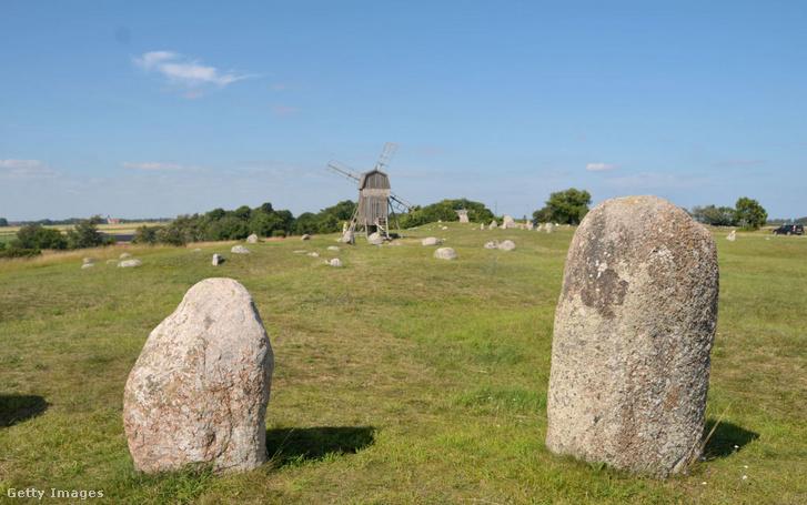 Öland szigeti viking temetkezési hely