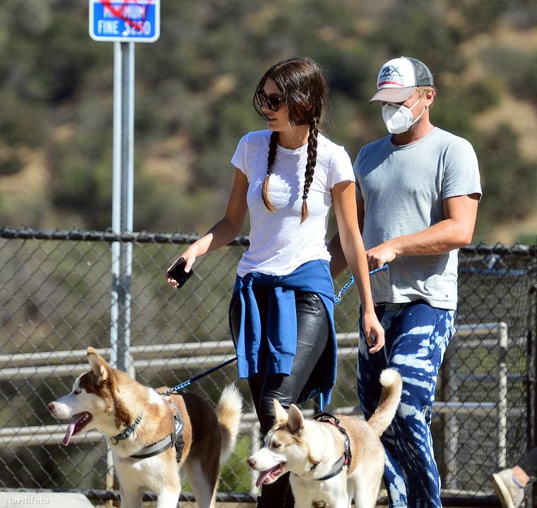 Nagy a szerelem Leonardo DiCaprio és barátnője, Camila Morrone között