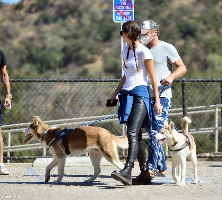 Persze, az is lehet, hogy a kutyusok csak elfáradtak a túra után, ezért cammognak kicsit lassabban a a pár tempójánál, akik három évvel ezelőtt találkoztak először.