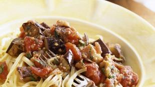 A lecsó egyik legfinomabb arca: lecsó olasz fűszerekkel, aszalt paradicsommal és friss, házi tésztával
