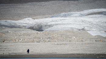 Durva, hogy mennyire melegedik az Északi-sark