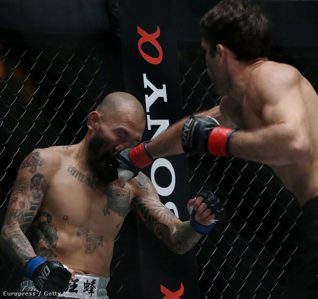 One Fighting bajnokság Szingapúrban - a brazil Zorobabel Moreira lelapítja a japán Kotetsu Boku orrát