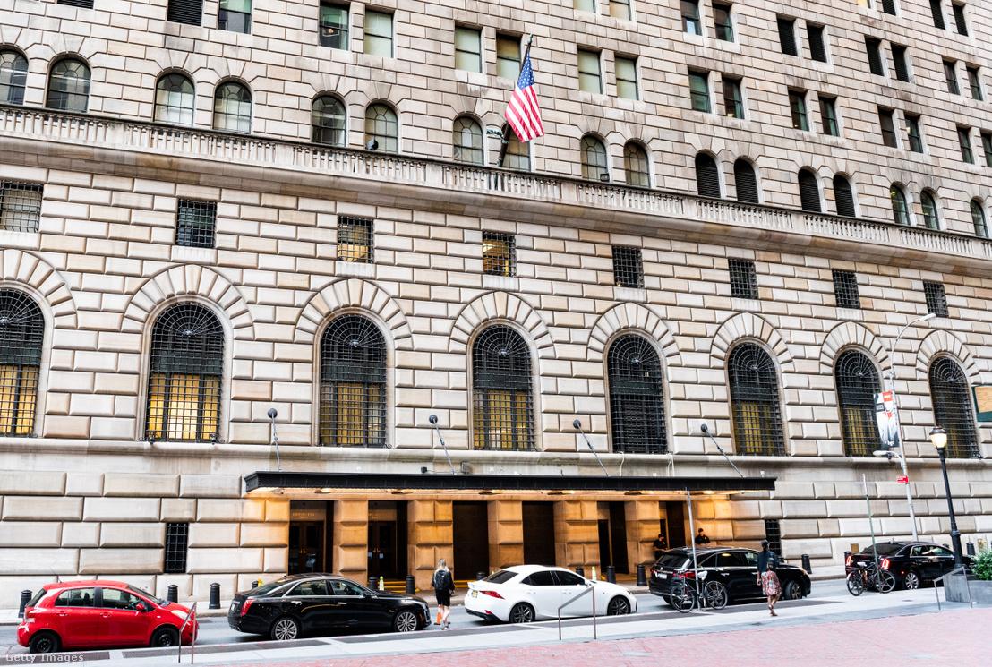 A Fed New York-i épülete.