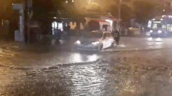Szélvihar és rengeteg eső söpört végig Horvátországon