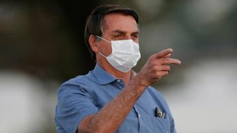 A brazil elnök szerint valójában negatív lett a vírustesztje