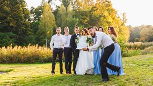 Úgy is lehetsz bunkó egy esküvőn, hogy észre sem veszed