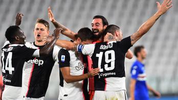 Győzelmével bajnok a Juventus