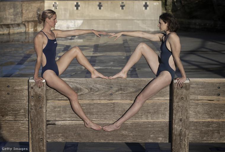 Szóval egy párhuzamos, vírusmentes univerzumban a Campbell-nővérek most nem egy üres medencében pózolnak, hanem egy teli medencében hajtanak éppen az újabb olimpiai aranyérmekért.
