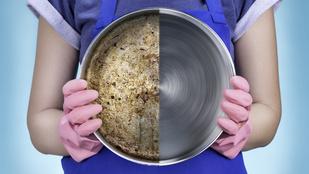 Így tisztítsd meg az edényeket, ha a mosogatás már nem segít