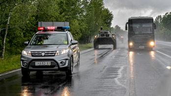 Csütörtök estig katonai konvojokkal találkozhat Hódmezővásárhely és Tápiószecső között