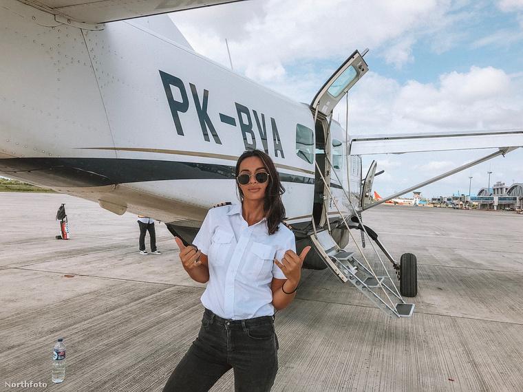 A 29 éves fokvárosi hölgy talán azért is vonzódott annyira a repülőgépekhez mióta az eszét tudja, mert édesapjának több magángépe is volt