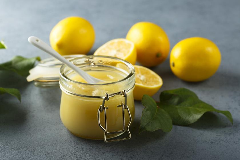 citromkrém recept