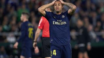 Koronavírusos a Real Madrid támadója