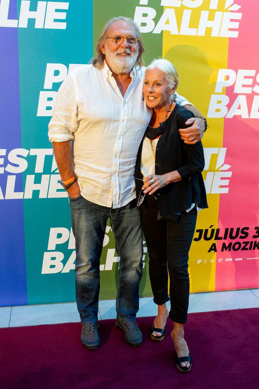 A magyar filmes szakma egyik álompárja, Kovács István és Pataki Ági producerek. Az egykori modell közel a hetvenhez is igazi díva.