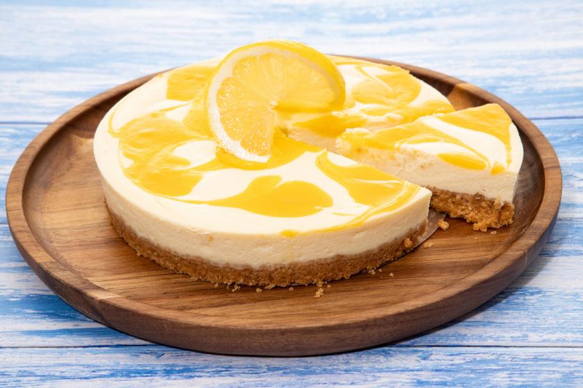 citromos sajttorta recept
