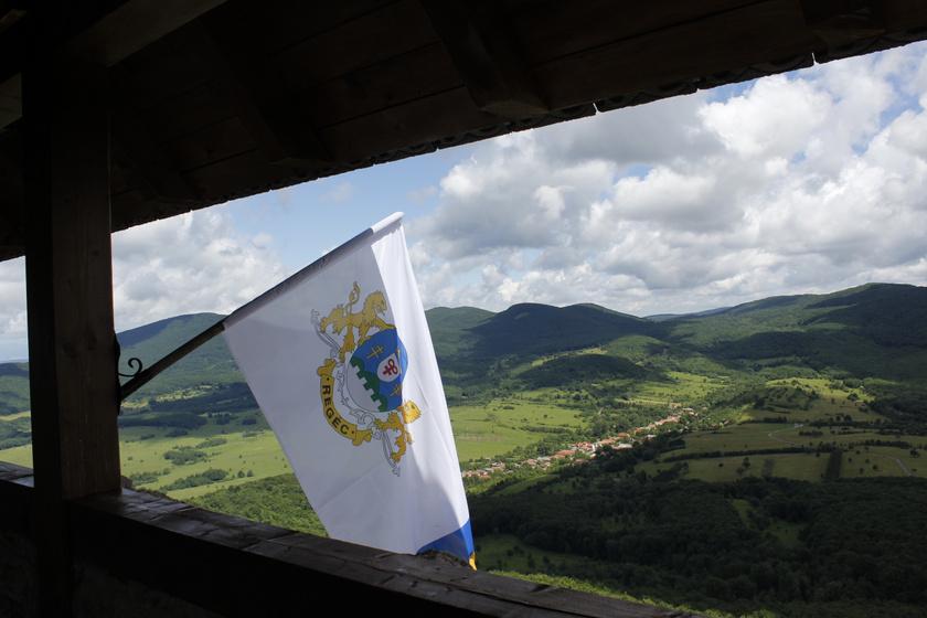 regéc zászló kilátás mnm