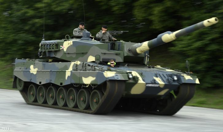 A Leopard 2 A4-eseket kiképzésre használjuk majd
