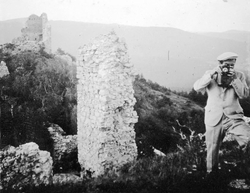 A regéci vár 1938-ban.
