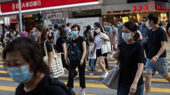 Összeomolhat Hongkong egészségügyi rendszere a második hullámtól