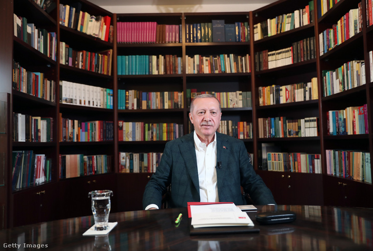 A török államfő