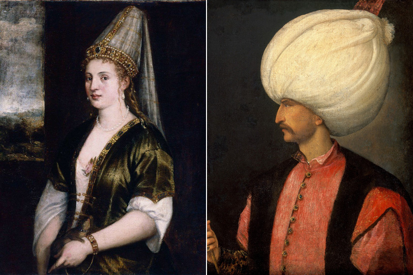 Hürrem és I. Szulejmán