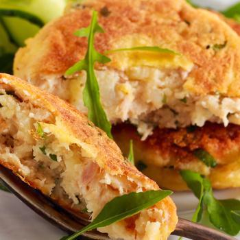 Villámgyors cukkinis-tonhalas fasírt – Könnyed, húsmentes főétel
