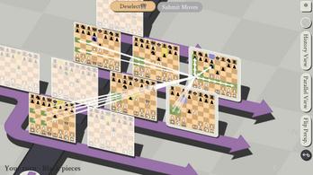 Ha unja már a sakkot, próbálja ki multiverzumos, időutazós változatban