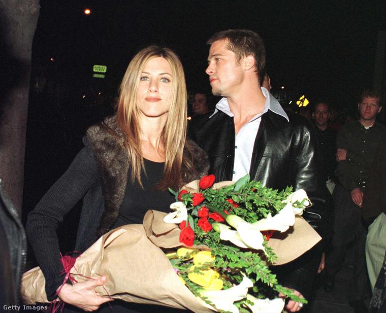 Brad Pitt és Jennifer Aniston 2000
