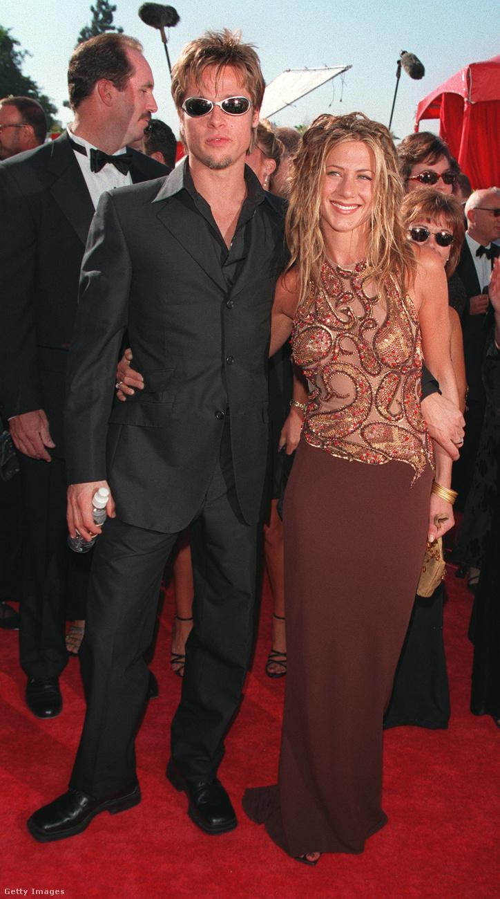 De 1999 szeptemberében az Emmy-kiosztóra már együtt érkezett a pár