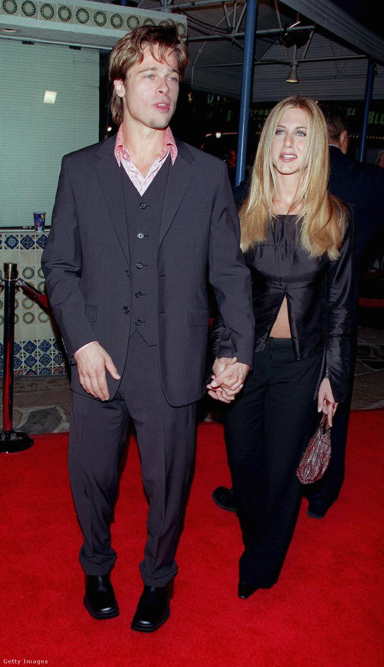Ez a kép a Harcosok klubja permierjén készült a párról 1999 októberében.