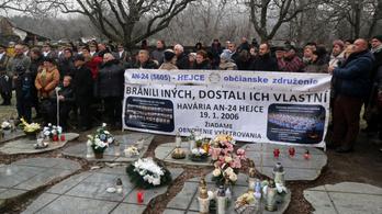 Közzéteszik a Hejcénél 2006-ban lezuhant szlovák katonai gép vizsgálati anyagát