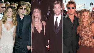 Ma 20 éve volt Brad Pitt és Jennifer Aniston esküvője, íme a házasság legfontosabb mérföldkövei!