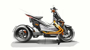 llyen lesz a KTM villanyrobogója