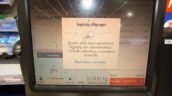 Dühében összetörte a képernyőt a debreceni férfi