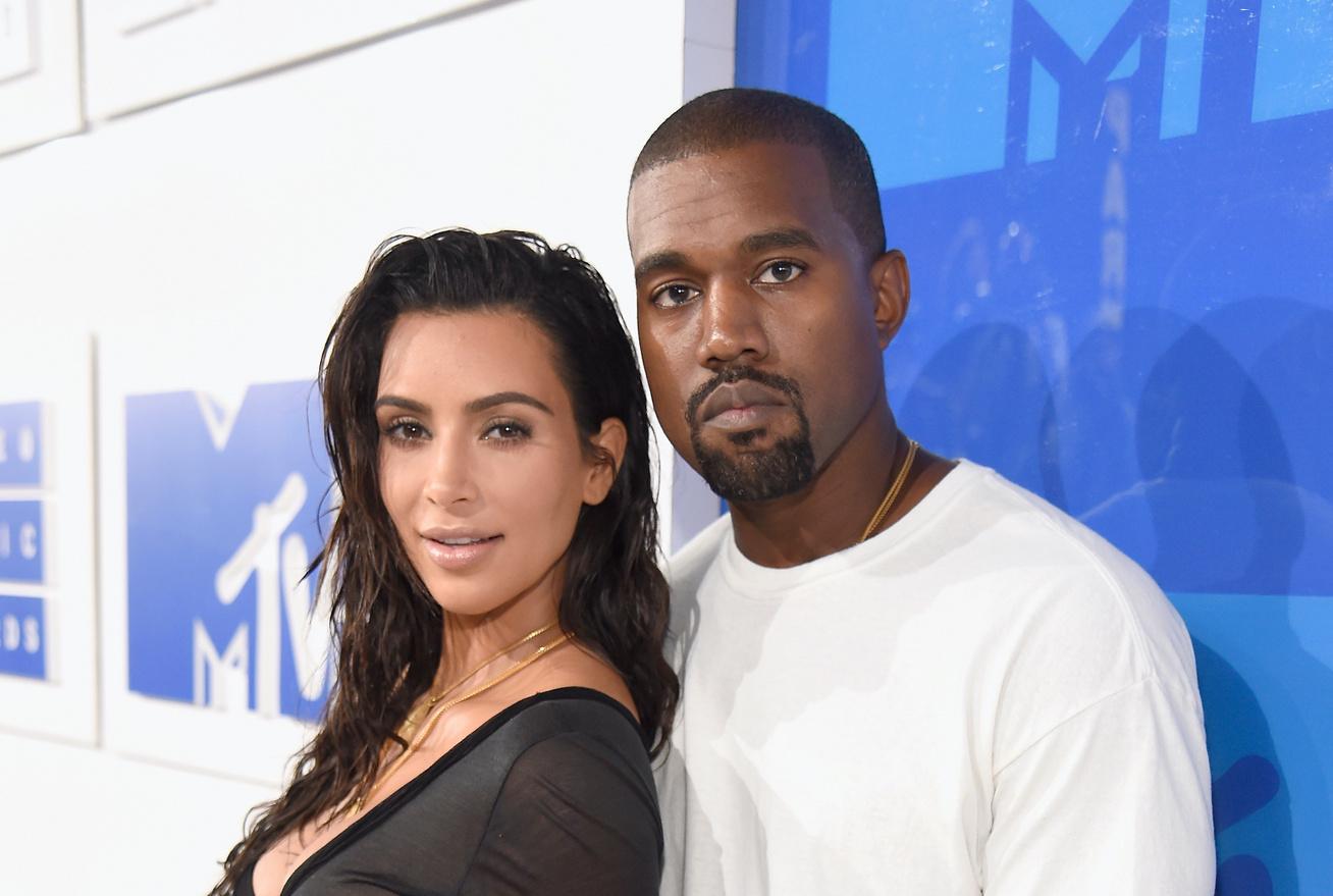 kim kardashian kanye west cover