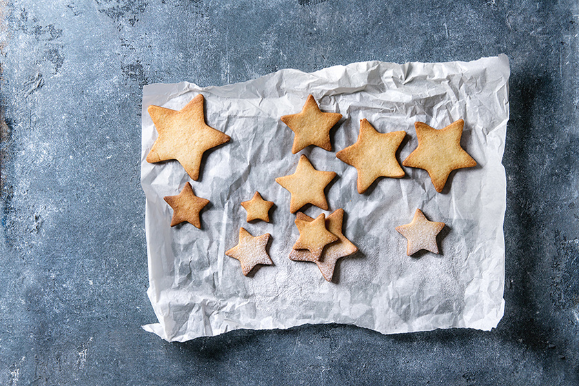 A ropogós finomság ajándékba is tökéletes – Illatos fahéjas keksz az ünnepekre
