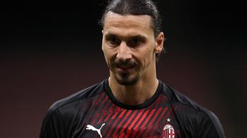 Ibrahimovic a következő szezonban is az AC Milan játékosa lenne