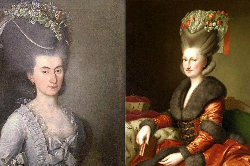 Életveszélyes frizuradivat a 18. század végén - Az óriási hajak gyakran lángra kaptak az asszonyok fején