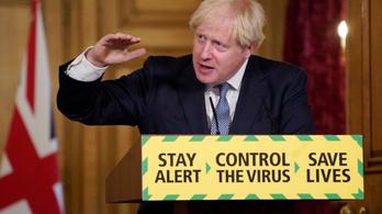 Boris Johnson: Most nem szabad levenni a fékről a lábunk