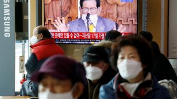 Letartóztatták Dél-Koreában a karantént kijátszó keresztény szekta vezetőjét