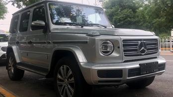 Érkezik a négyhengeres Mercedes G-osztály