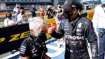 Pályacsúccsal szerezte meg 91. pole-ját Lewis Hamilton