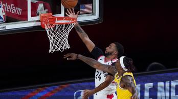A bajnok Toronto megállította a Lakerst