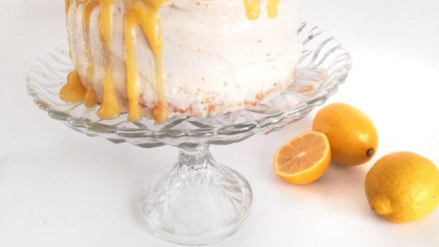 Ünnepi citromtorta