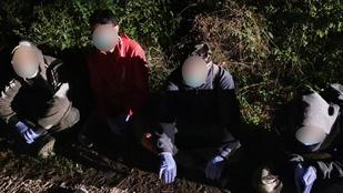 Három nap alatt 154 határsértőt találtak Magyarországon