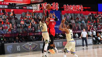 Rájátszás-formában a Houston Rockets, a ligaelsőt is legyőzték