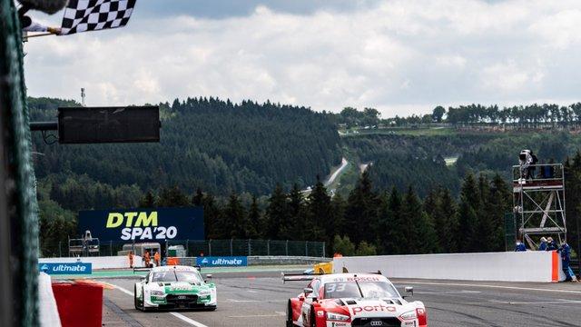 DTM: Totális Audi-dominancia Spában