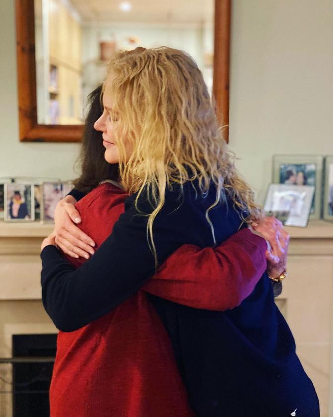 Nicole Kidman jórészben a koronavírus miatt már nyolc hónapja nem találkozott 80 éves édesanyjával